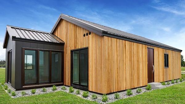 大型パネル構造の住宅部材用いた試作棟、ニュージーランドで上棟-パナソニックホームズ
