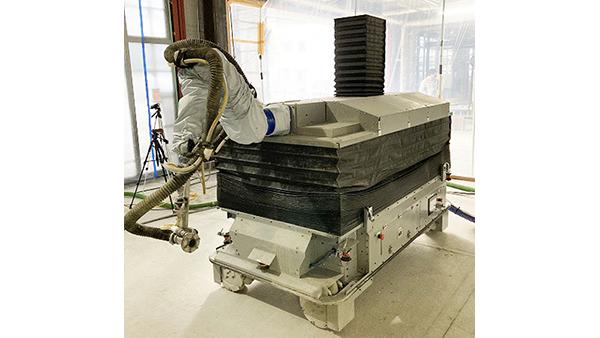 大和ハウス、「耐火被覆吹付ロボット」を実工事に初導入 作業時間短縮で働き方改革