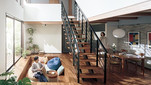 「階段もリビングの一部」という新提案 ーパナソニック(PR)