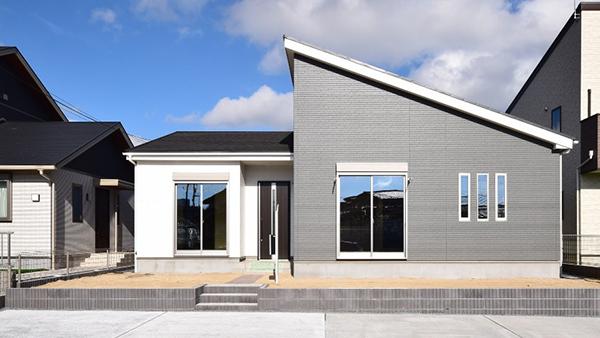 四つ葉のクローバーモチーフの平屋分譲住宅発売-ケイアイスター不動産