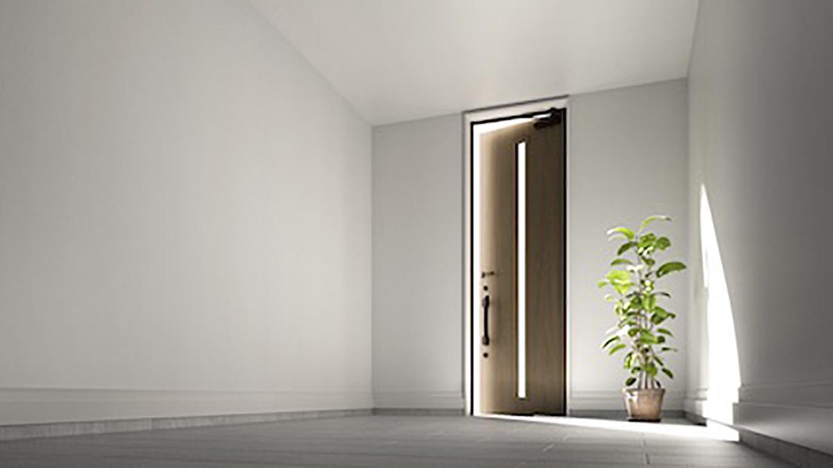 LIXIL、主力玄関ドアに「ハイサイズモデル」投入