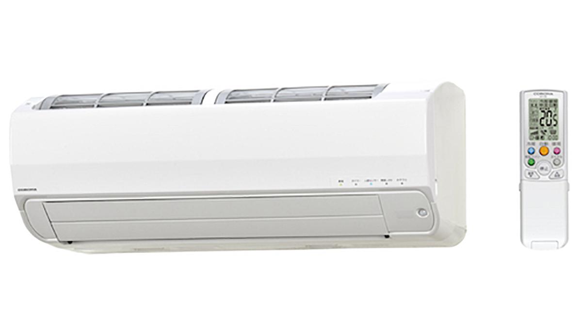 コロナ、結露水で熱交換器を水洗いするルームエアコン発売