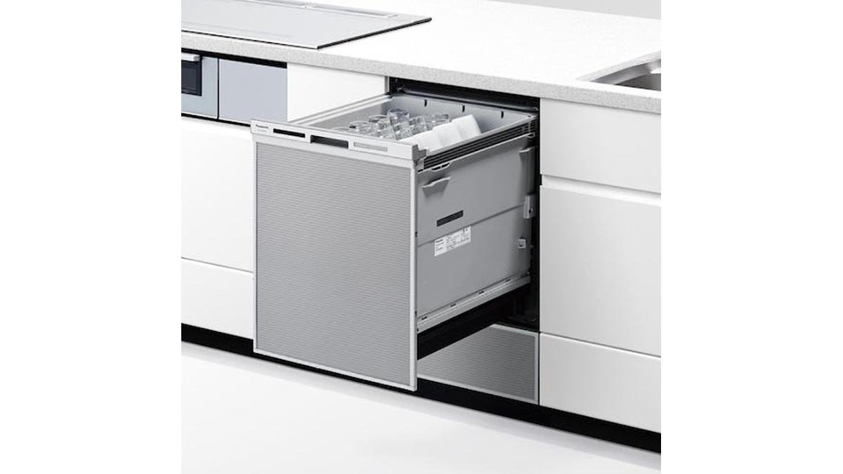パナソニック、洗い・すすぎ工程で99%以上除菌するビルトイン食洗機