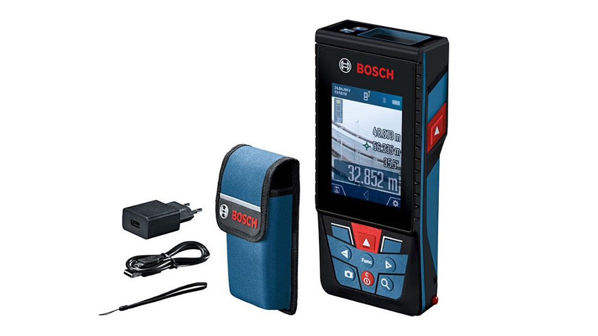 カメラ機能搭載のプロ用レーザー距離計を新発売-ボッシュ