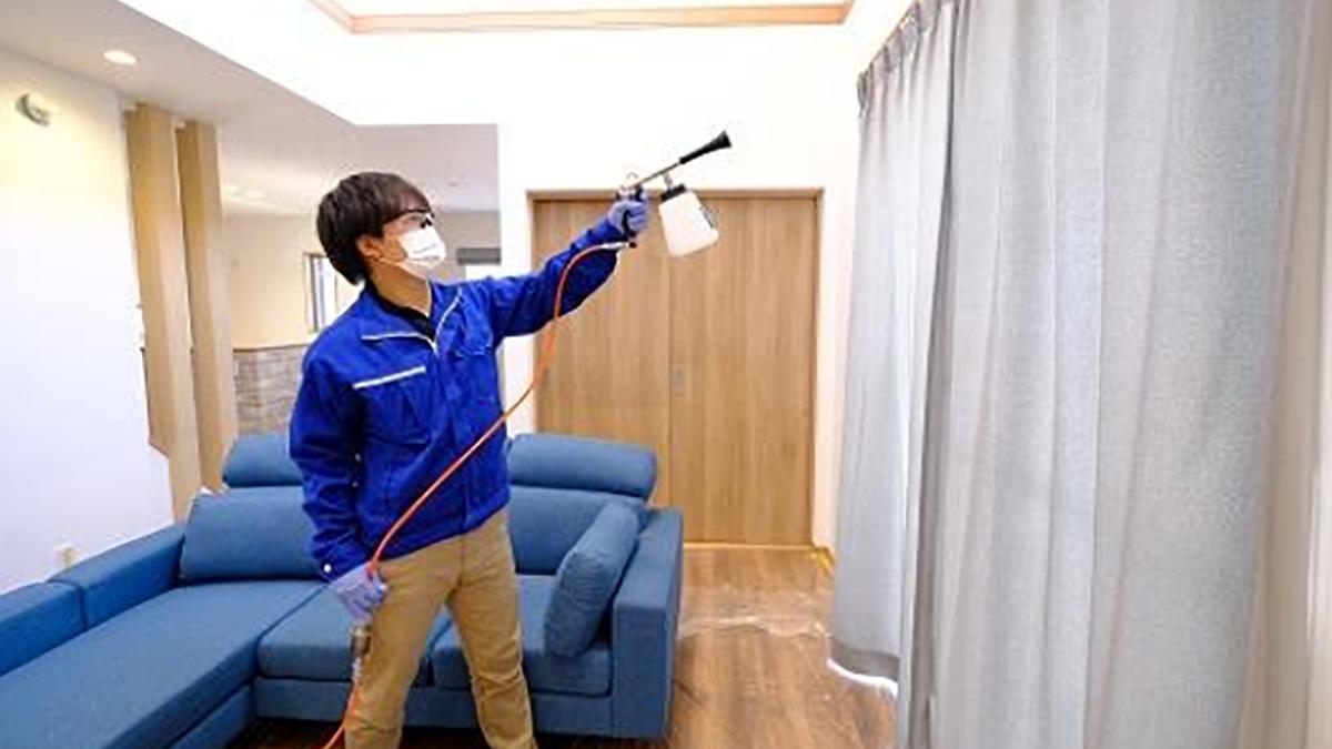 抗菌光触媒コーティングに新型コロナ補償を付帯-キャンディル・東京海上日動