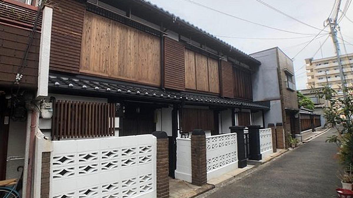 昭和初期の長屋を再生 不動産価値とエリア価値の上昇めざす