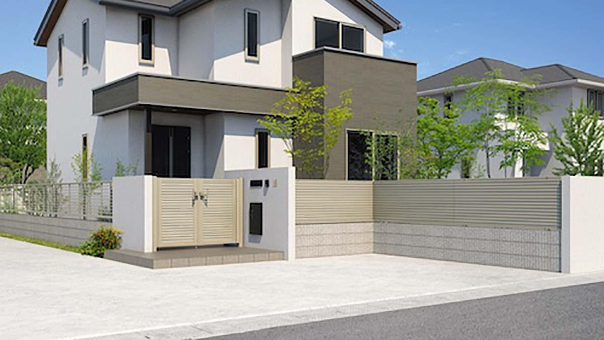 三協アルミ、耐風圧強度36m/秒相当の形材フェンス・門扉を発売