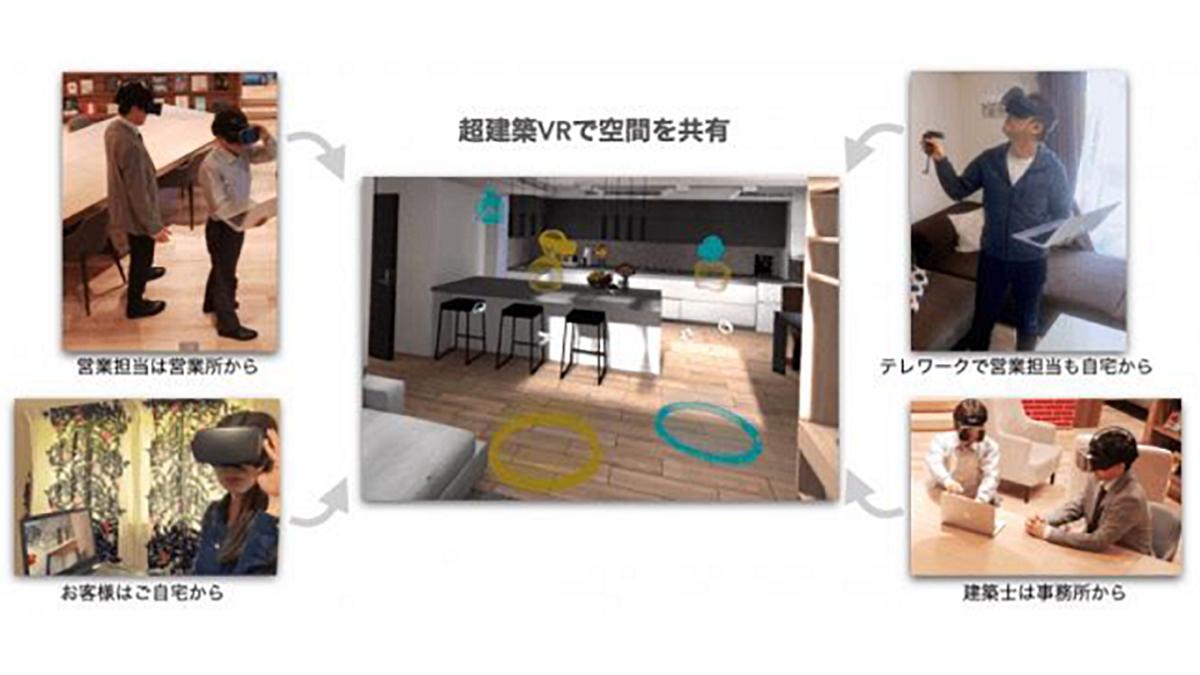 """地域工務店グループが""""新しい生活様式""""の住宅開発 バーチャルモデルハウスで提案"""