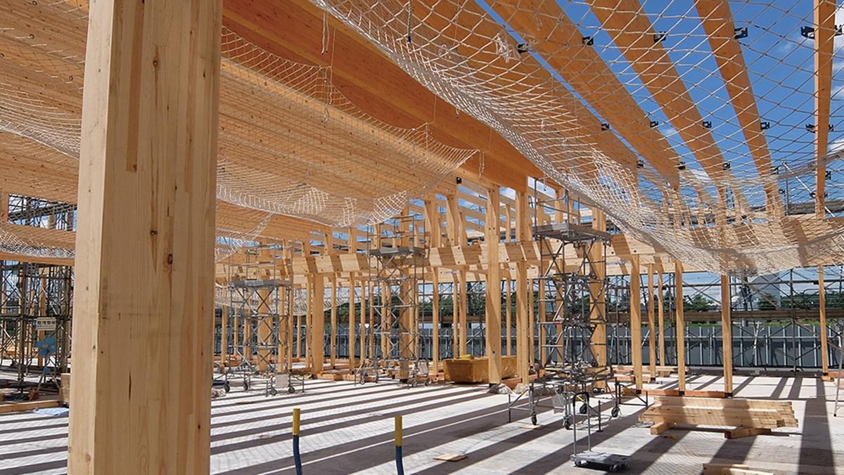 「中大規模木造」いまが参入のチャンス まず500m<sup>2</sup>未満で実績を、人材不足などボトルネック解消支援 木構造デザインが工務店向けにセミナー