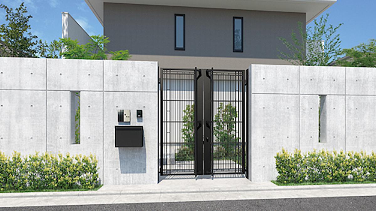 三協アルミ、最大高さ2000mmのアルミ鋳物門扉を発売
