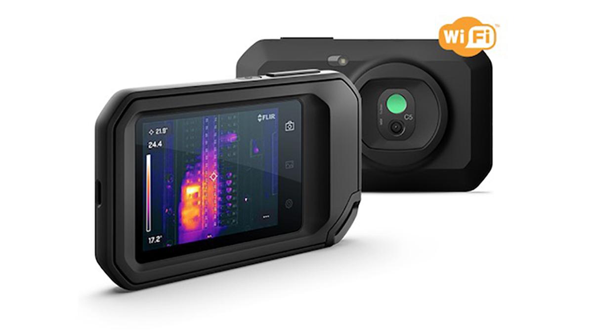 フリアーシステムズ、解像度向上したコンパクトなサーモカメラ発売