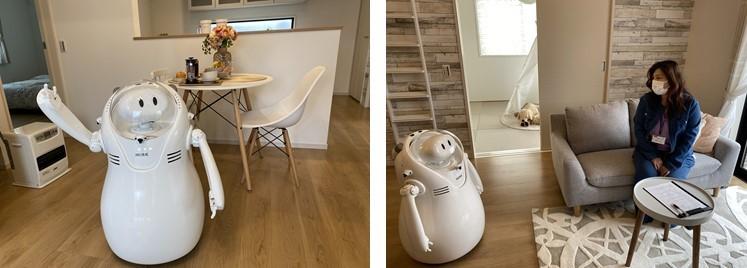 ケイアイスター、住宅展示場用接客ロボットの共同開発へ