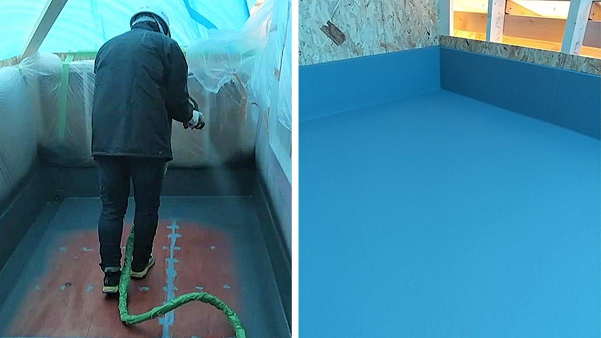 建物の長寿命化図る防水技術、戸建て住宅向けに本格展開-日本アクア