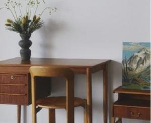ヴィンテージ家具をサブスクで UDSがハルタと新サービス