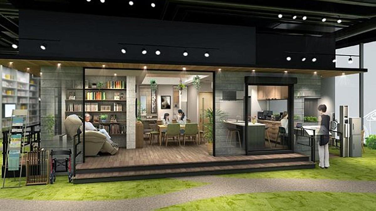パナソニックセンター大阪、住空間展示「健康にくらし続けられる家」オープン