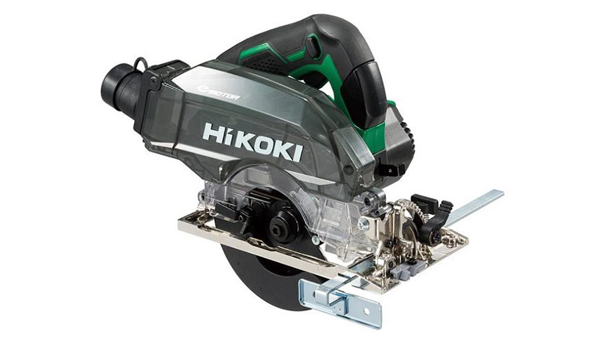高い集じん効率と高速切断を実現したコードレス集じん丸のこ発売-HiKOKI