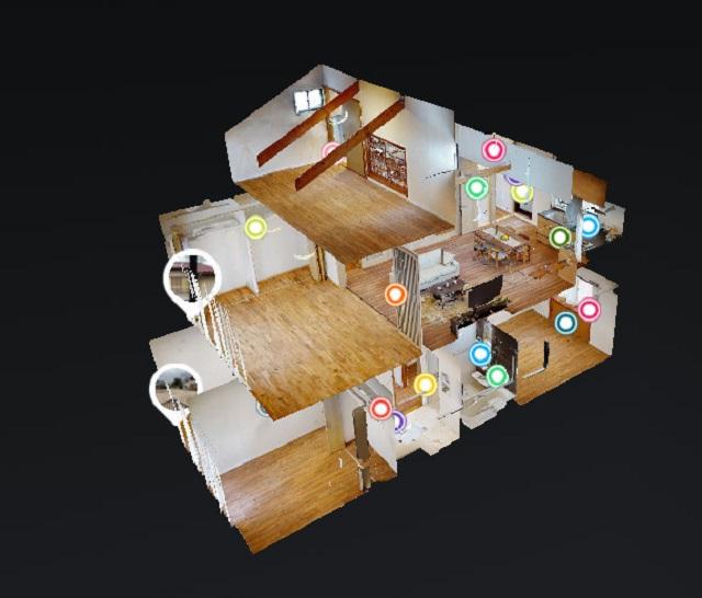建物の魅力を360度4K高画質で3Dモデル化