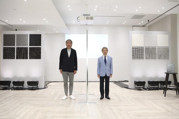 サンゲツが隈研吾氏とコラボ、壁紙・床材コレクション「カゲトヒカリ」発表
