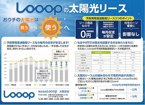 太陽光は「買う」から「使う」へ Looopの予測発電量連動型リース