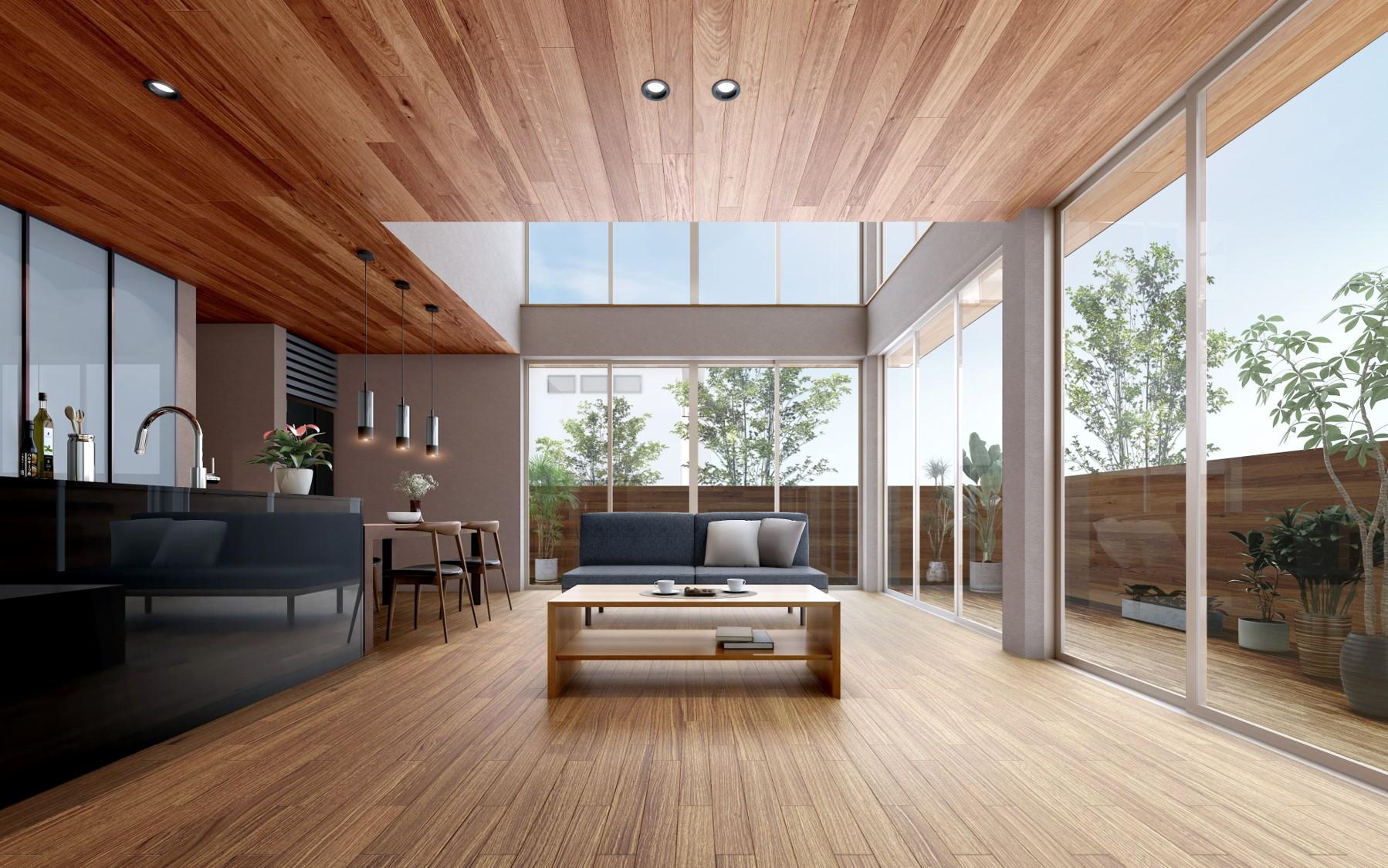 アキュラホーム、6mの大開口実現した「超空間の家」発売