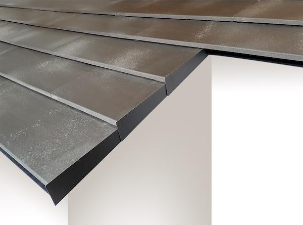 鶴弥が陶板屋根材リニューアル、重厚感と施工性を向上