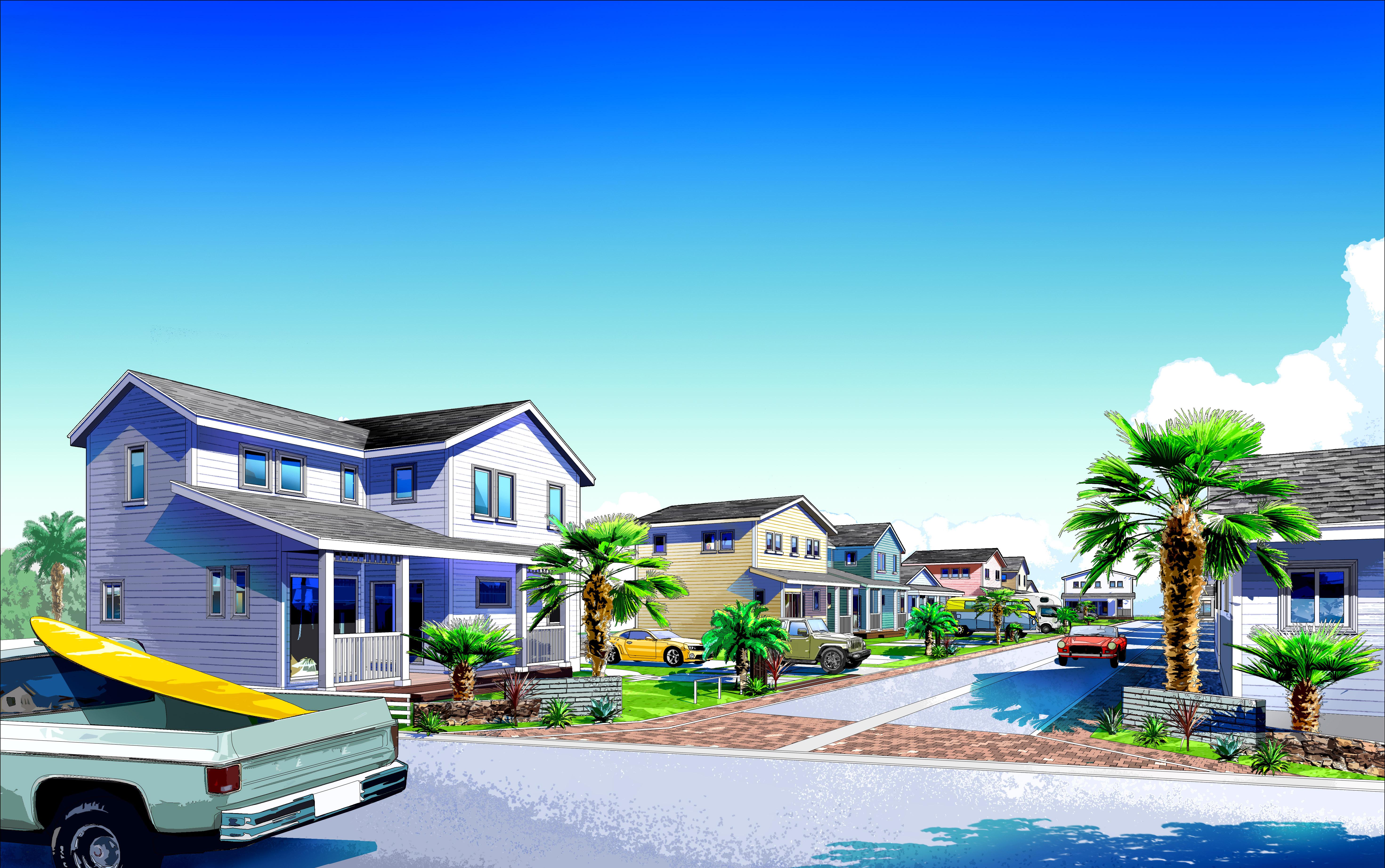 LIXIL住研+GLホーム神栖、全棟アメリカンデザインの分譲地25区画を発売