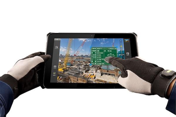 電子小黒板「蔵衛門Pad」の耐落下性能を強化、手袋でも操作可能に