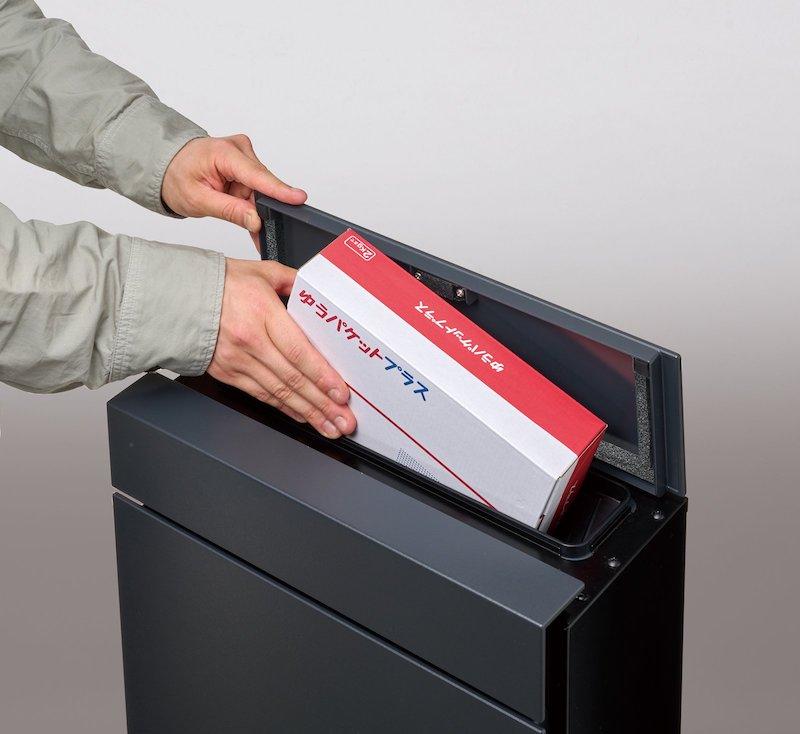 パナソニック、大型郵便物が受け取れる投函口7.4×33cmのポスト発売