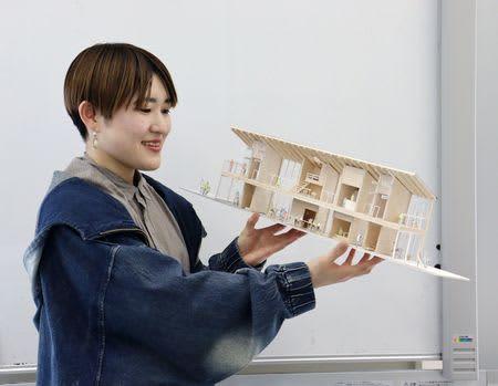 新潟工科大生 大賞と優良賞に 設計コンペ 発想と工夫で快適住宅