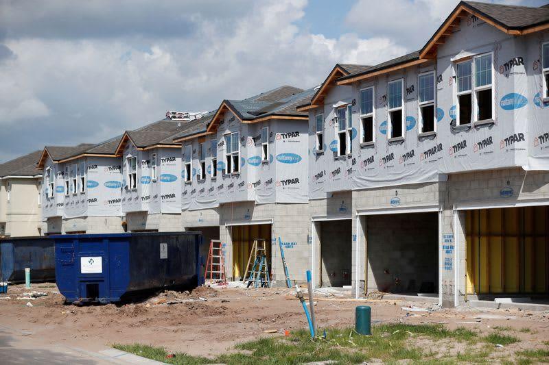 米住宅建設業者指数、5月は横ばい 建材不足に不安