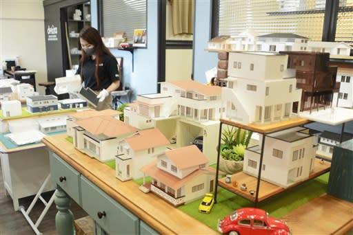 住宅模型キット、営業用や思い出に 熊本市南区の企業、全国へ販路拡大