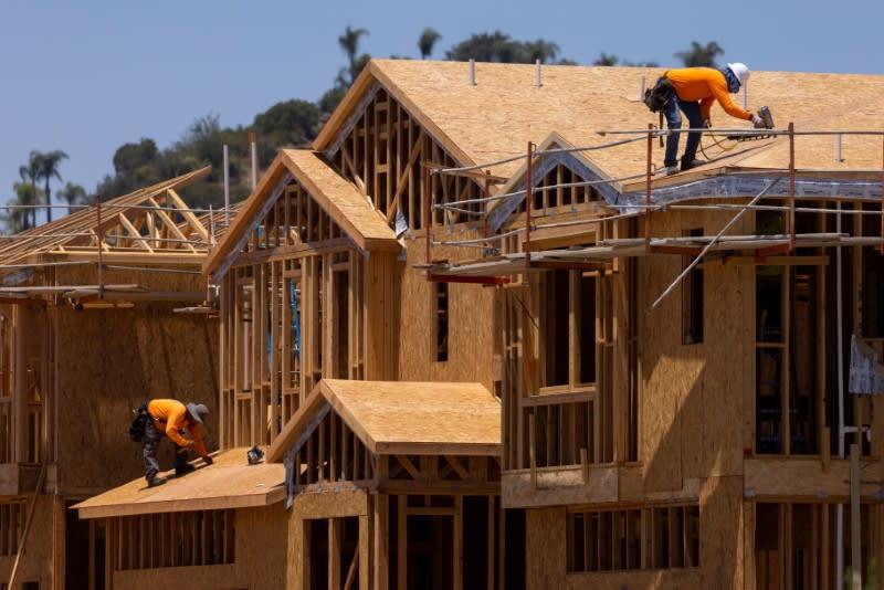 米5月住宅着工3.6%増、持ち直しも予想に届かず 許可件数減少