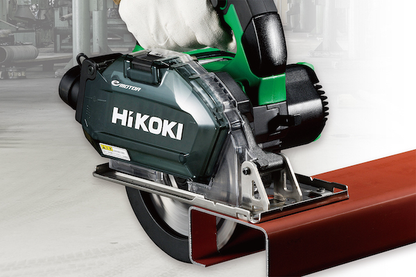 HiKOKI、150mm径チップソーで厚物にも対応