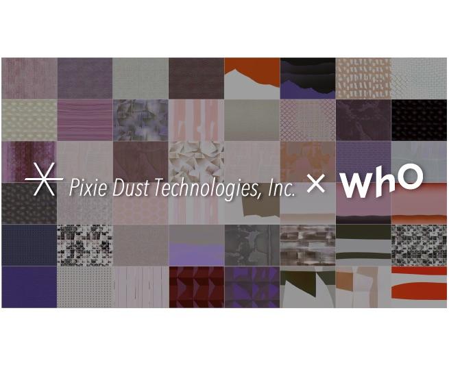 AIで壁紙デザインを生成、WhOとPxDTがコラボ