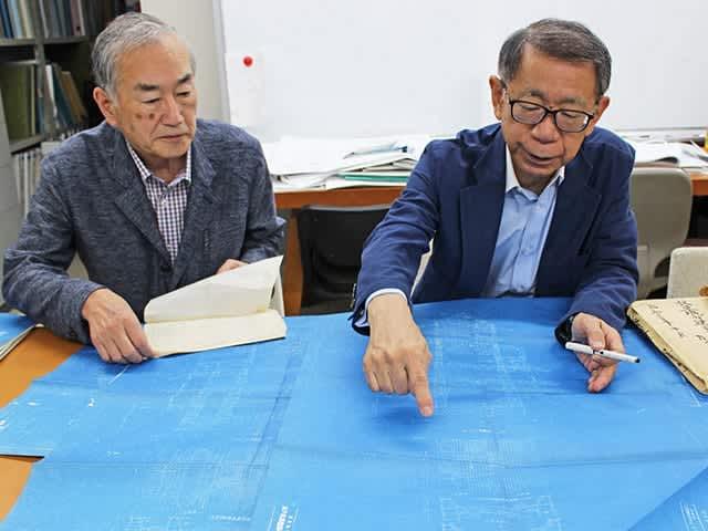 岐阜城再建「耐震に工夫」上層階ほど柱細く、地盤と基礎一体化 設計図発見