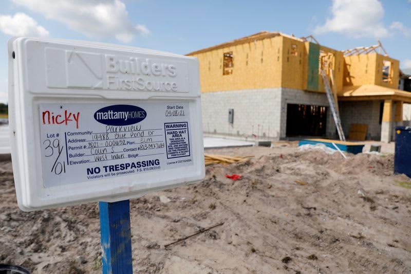 米住宅着工、6月は6.3%増 許可件数さえず8カ月ぶり低水準
