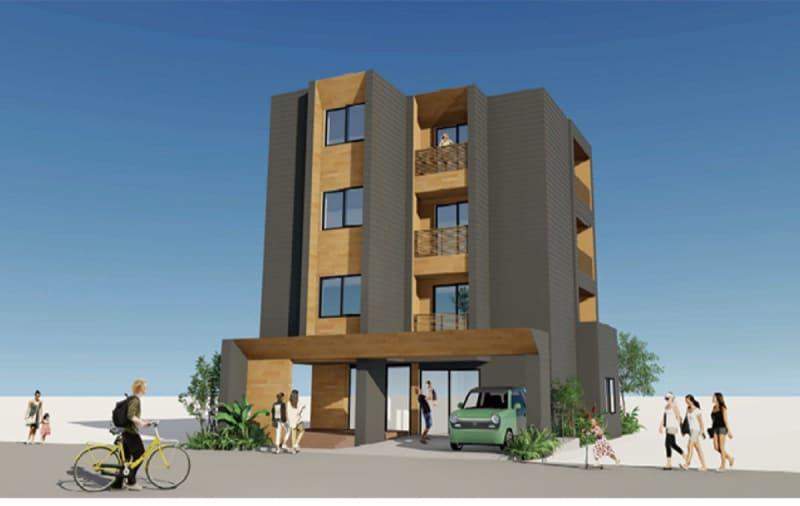 地産木造ビル大鋸で着工 湘南海友プロジェクト
