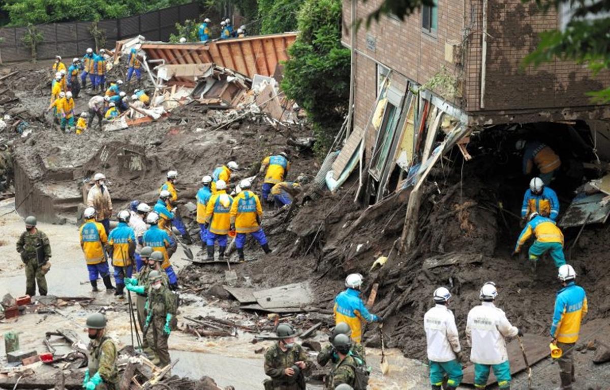 熱海市土石流災害を受け、クラフトバンクが現地の支援決断