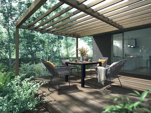 LIXIL、ガーデンファニチャーにロープ素材の新モデル