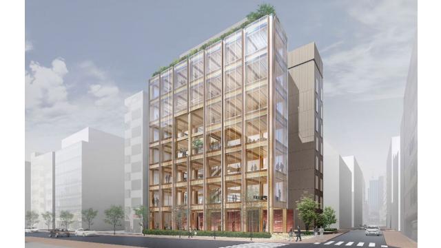 ジューテック、新本社ビル着工 木造と鉄骨ハイブリッド構造