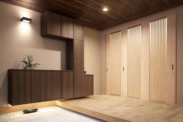 永大産業がコンパクトな手洗い、玄関・廊下にも