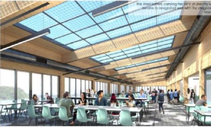 AGCの太陽光発電ガラスがシンガポール工科大学に採用