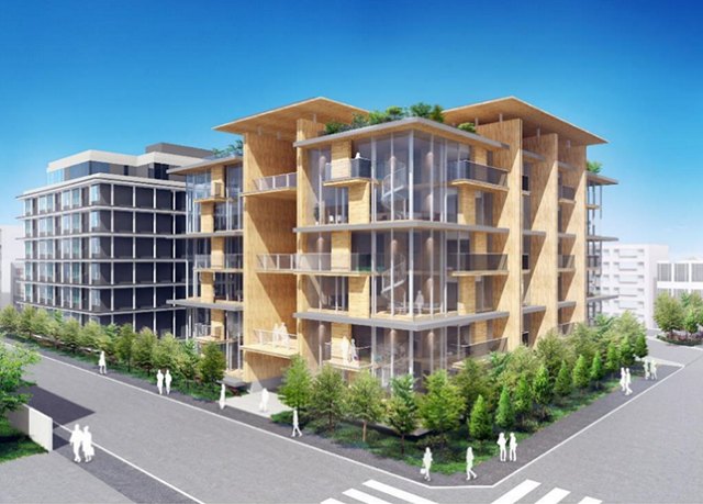 竹中工務店、遮音の耐火集成材開発 集合住宅など適用拡大