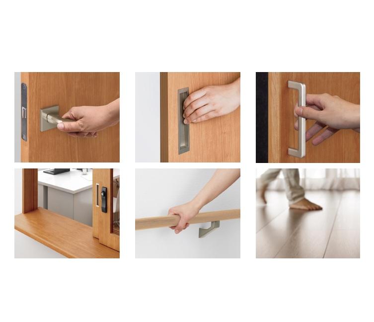 LIXIL、ドア把手や床材に抗菌・抗ウイルス機能