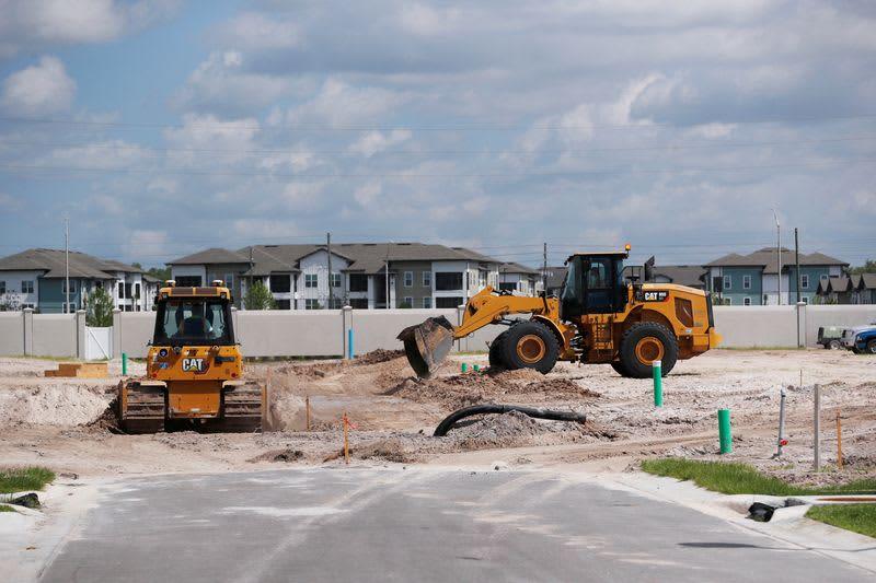 米住宅着工、9月1.6%減 許可・完成件数は約1年ぶり低水準