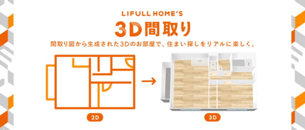 LIFULL、AI技術用い3D空間で内見可能に